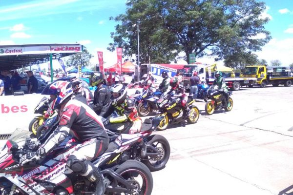 Pits at 3 Hour Endurance Race - Bikes