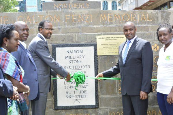 AA-Kenya-unveiling-Galton-Fenzi-Memorial-2019